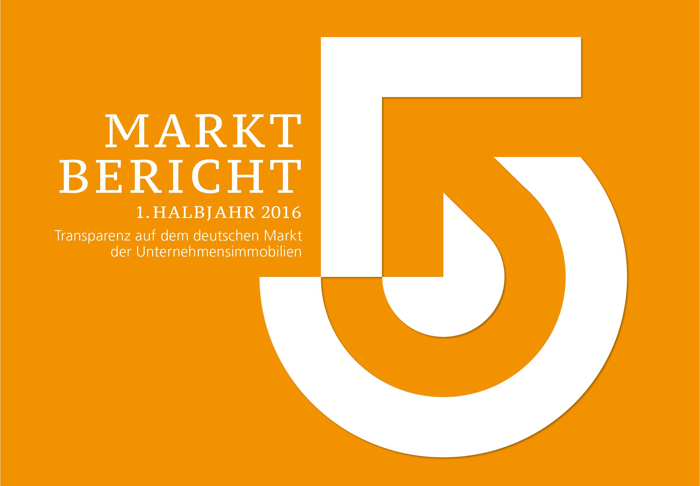 Marktbericht Nr. 5 der Initiative Unternehmensimmobilien