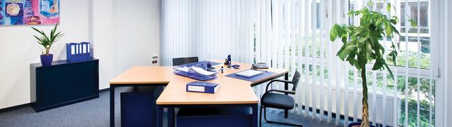 Klassische Büroräume - auch komplette Büroetagen