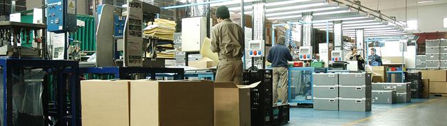 Produktionshalle in einem Sirius Businesspark
