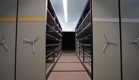 Archivfläche im Sirius GutenbergPark Mainz
