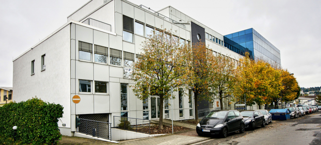 ansicht eingang office center frankfurt