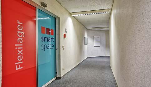 Eingang zum Selfstorage in Hannover