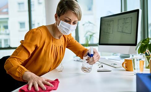 Hygiene am Arbeitsplatz