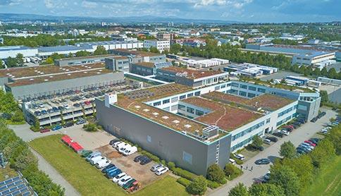 Luftaufnahme Sirius GutenbergPark Mainz