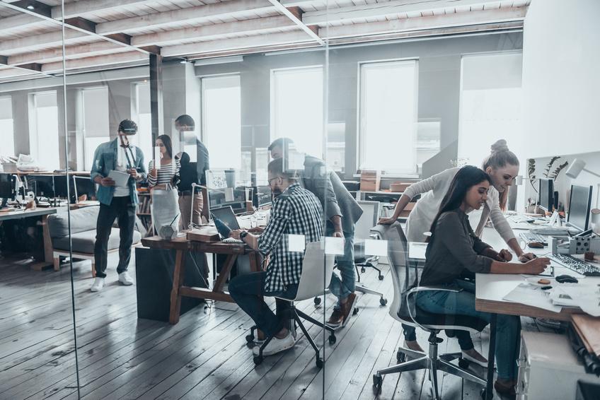 Moderne Büros – das Arbeiten von heute