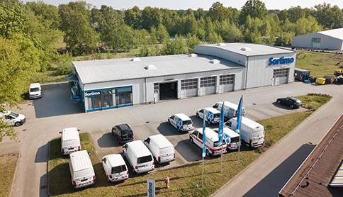 Produktionsgebäude Sirius Business Park Berlin Gartenfeld