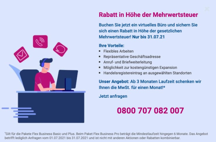 Virtual Office Promotion
