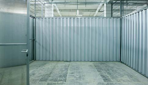 Innenansicht Self Storage im Sirius Business Park Berlin-Tempelhof