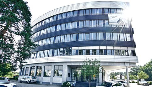 Außenansicht des Sirius Office Centers in Neu-Isenburg