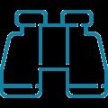 Icon Fernglas