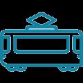Icon Straßenbahn