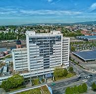 Gewerbeflächen im Sirius Office Center Wiesbaden