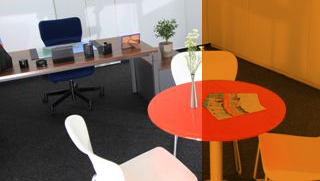 Büroräume mit all-inklusive Service.