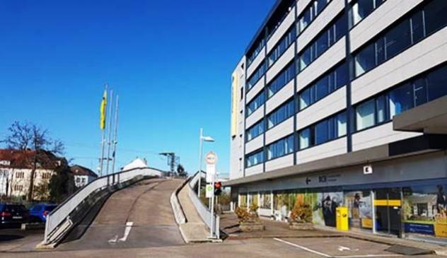 Blick auf den  Sirius Business Park Frickenhausen