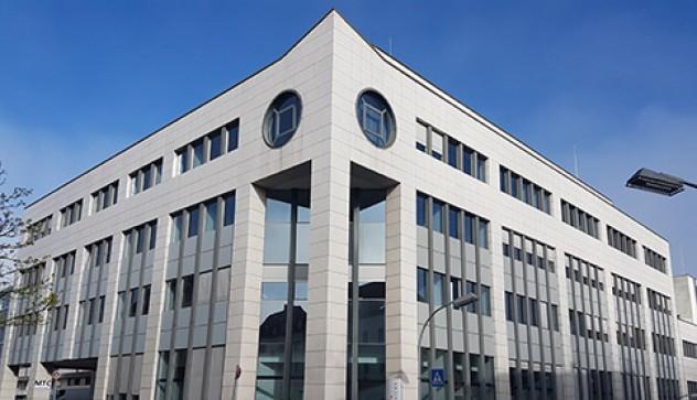 Blick auf das Sirius Office Center Saarbrücken