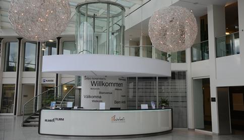 Empfang im Ruhrturm Essen