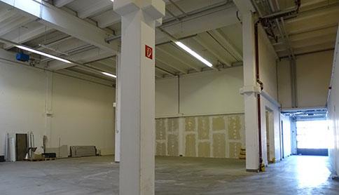 Lagerhalle - Produktionshalle