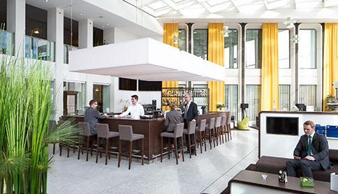 Lounge im Ruhrturm Essen