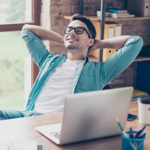 Mit Virtuell Office können Sie von überall aus arbeiten