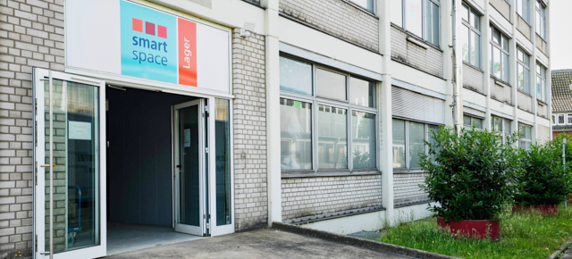 zugang zu smartspace lager self storage in duesseldorf